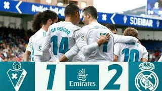 Hasil Pertandingan Tadi Malam Eibar Vs Real Madrid (1-2) All Goal 10 Maret 2018