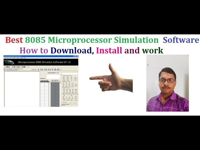 How to download microprocessor 8085 simulator youtube.