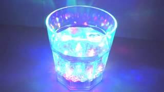 """Светящийся стакан """"LED Party"""" - демонстрация"""