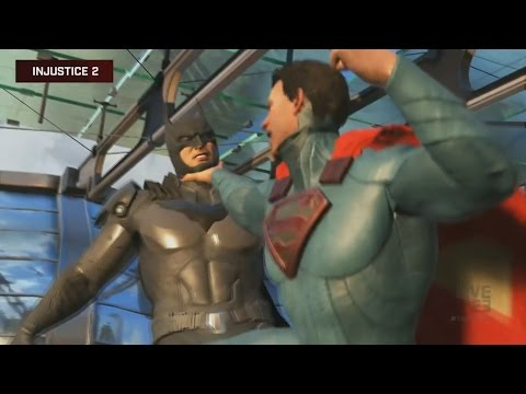 Injustice 2 Gameplay Trailer E3 2016 Batman vs. Superman