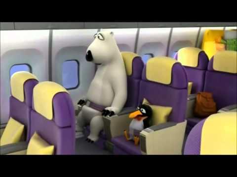 Bernard The Polar Bear Part 4 Airplaine