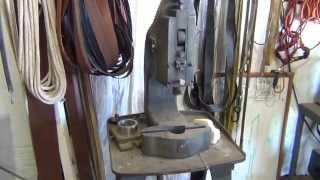 blacksmith shop tour ( 3 ) forging tools