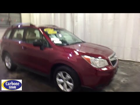 2015 Subaru Forester Troy, Colonie, Glenville, Clifton Park, Saratoga Springs, NY 5P3671