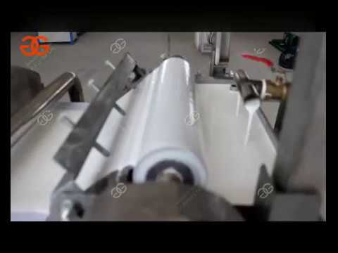 Automatic Rice Noodle Making Machine|Ho Fun noodle maker|Flat Rice Noodles Making Machine