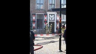 Brand in Restaurant De Nachtwacht in Winterswijk