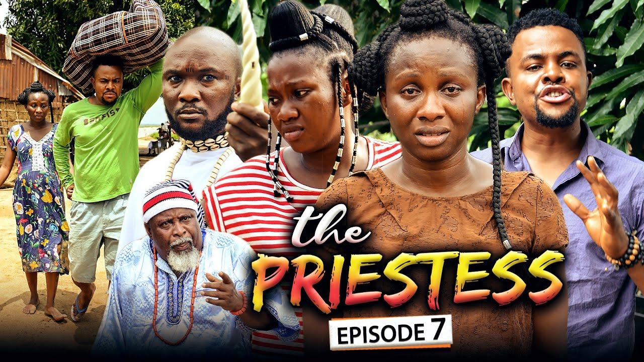 Download THE PRIESTESS EPISODE 7 (New Movie) Sonia Uche/Chinenye Nnebe/Rhema 2021 Nigerian Nollywood Movie