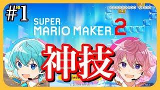 【マリメ2】プロゲーマー2人がガチでマリオやるとこうなる【ころん】【さとみ】