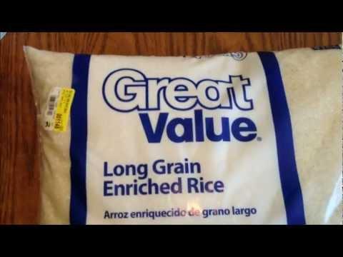 wal-mart-rice-20lbs-review---cheap-prepping---storing-rice-long-term