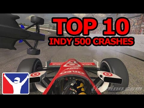 iRacing | Top 10 Indy 500 Crashes.