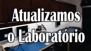 Getech Informática - Vejam como ficou o laboratório, o que acham?