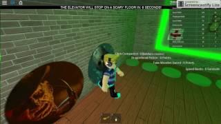 Como entrar en las dos puertas de The scary elevator Roblox  Bigotito30 Gamer