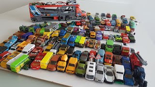 Biggest Hot Wheels Cars Toys Set with Car Transporter Playing
