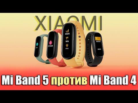Xiaomi Mi Band 5 против Mi Band 4. Сравнение. Что купить?