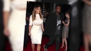 kim kardashian flashes her diamond ring on night out with kanye west