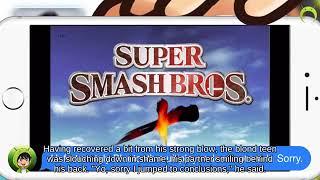 OHKO Bayonetta holding Gooey Bomb fighting on Skyworld Super Smash Brothers Brawl