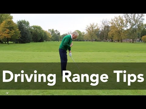 Driving Range Tips You Can't Practice Without | Golf Instruction | My Golf Tutor