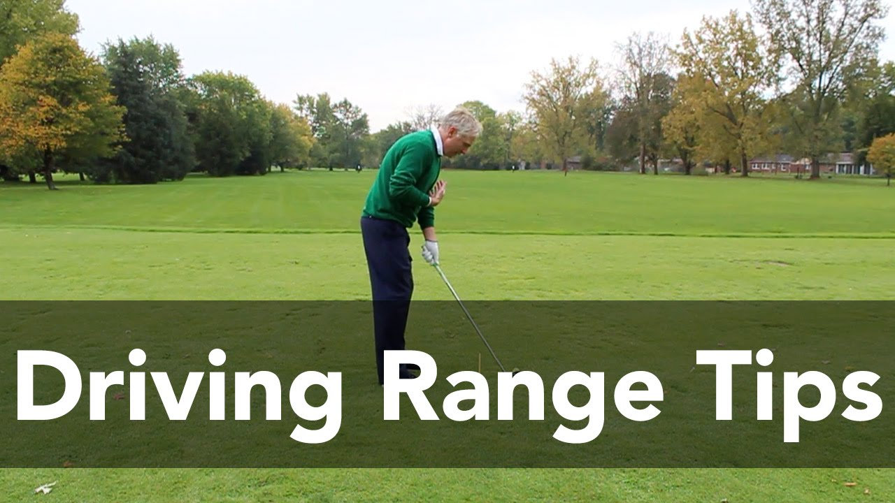 driving range tips you can u0027t practice without golf instruction