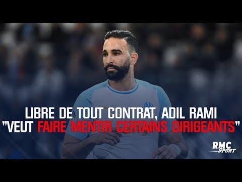 """Libre de tout contrat, Adil Rami """"veut faire mentir certains dirigeants"""""""