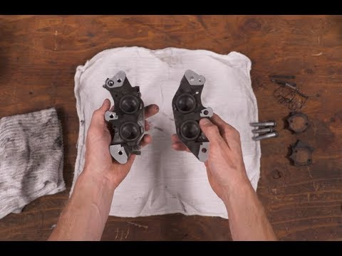 How To Rebuild Your Motorcycle's Brake Calipers | MC Garage