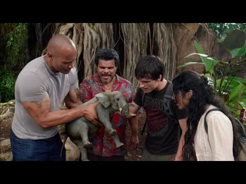 Journey 2 The Mysterious Island (2012)best Movie Scene In Hindi|