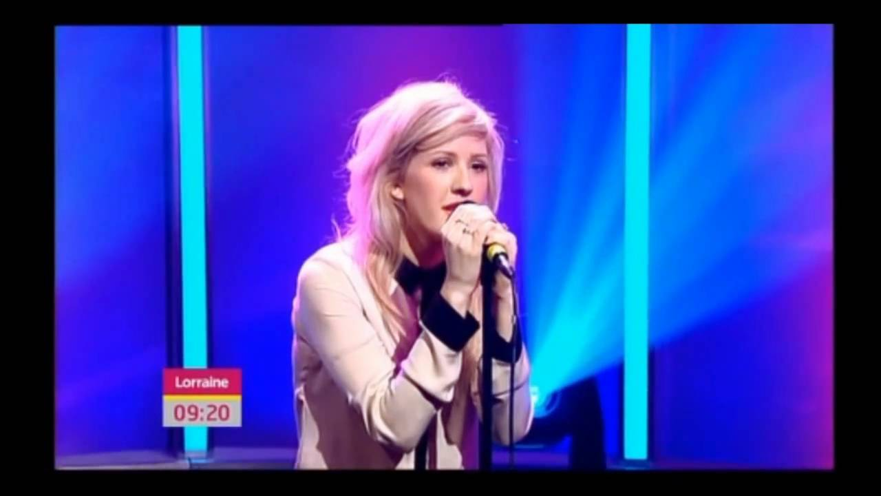 """Ellie Goulding sings """"Your Song"""" on Lorraine Kelly Show HQ ..."""