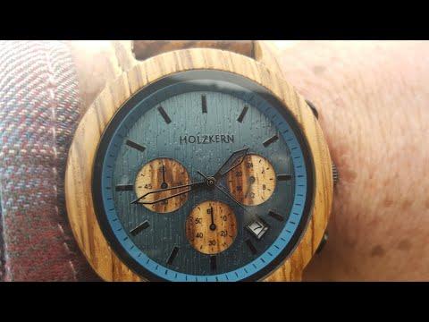 Holzkern Wood & Stone Watch Mountainlake - DIY watch stand