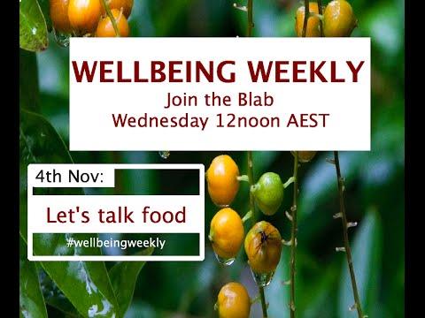 Wellbeing Weekly: Let's Talk Food