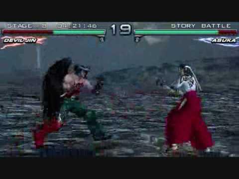 Tekken Dark Resurrection Devil Jin Storyline In Psp Youtube