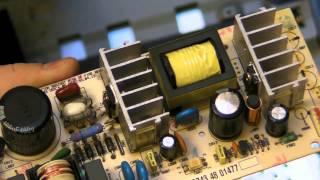 11 - Exemple de panne de condensateur électrochimique.