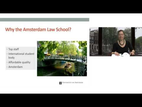 Webinar - Studying at the Amsterdam Law School