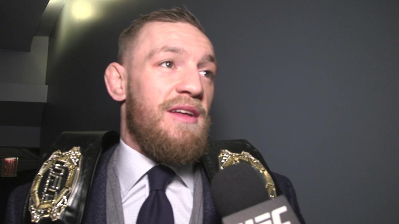 Download UFC 205: Conor McGregor Backstage Interview