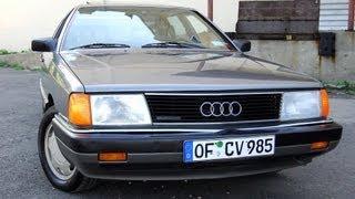 1987 Audi 5000 Quattro 2.3 Typ44 100 Sedan
