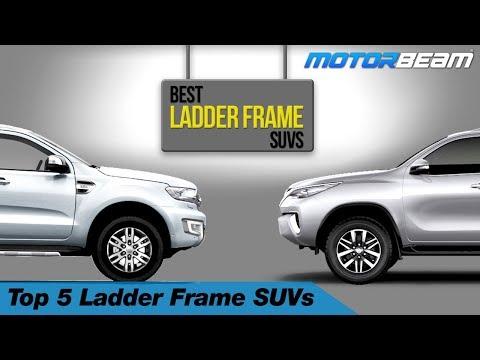 Top 5 Ladder Frame SUVs In India | MotorBeam