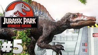 Jurassic Park: Operation Genesis - Part 5: Spinosaurus.
