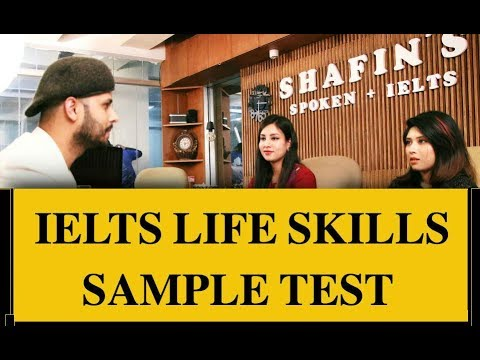 IELTS Life Skills Sample Test.