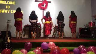 Nilo akash seto badal    Dance by We Sisters