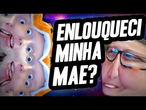 DEIXEI MINHA MÃE LOUCA JOGANDO WEBCAM TOY - CARECA TV