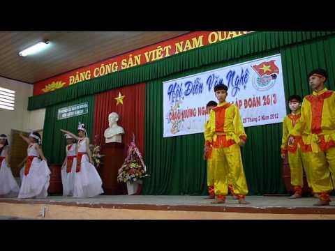 Noi trong len cac ban oi lop 8/1 THCS Tran Hung Dao