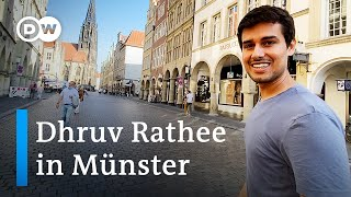Discover Münster with Dhruv Rathee   Travel Tips for Münster   Explore Münster in Germany