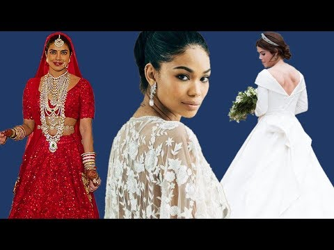 15 Most breathtaking celebrity wedding dresses of 2018