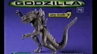 Godzilla 1998 Trendmasters Toy Advert