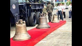 Balangiga Bells back in the Philippines