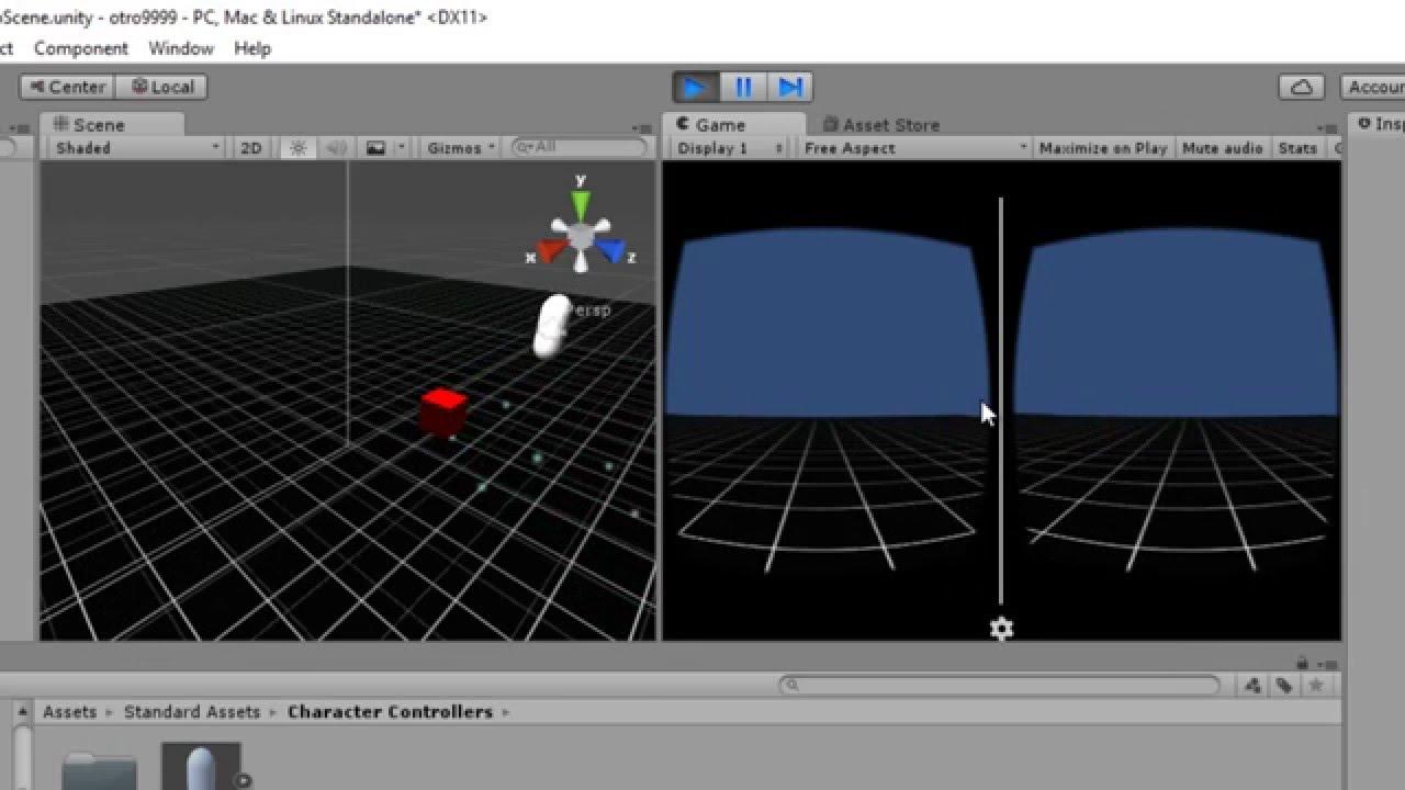 Como Crear Juegos En Unity Para Carboard Vr Y Manejar Movimiento Con