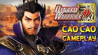 Dynasty Warriors 9 Cao Cao Gameplay TGS 2017 - [真・三國無双8]  曹操 ー ゲームプレイ