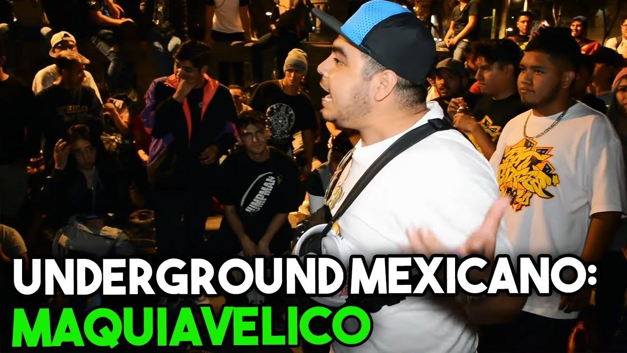 Conociendo el UNDERGROUND MEXICANO | MAQUIAVELICO #1