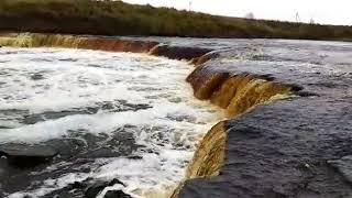 Саблинский водопад Ленинградской области