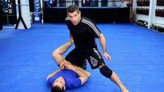 Basic Passing the Open Guard Techniques | MMA Fighting thumbnail