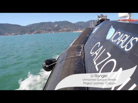 ICARUS Robotic Maritime Search and Rescue Demonstration at CMRE (October 2014)