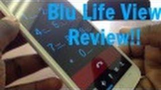 BLU Life View Full Review