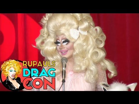 "TEASER!: Trixie Mattel & Darienne Lake @ ""The Library is Open"" Panel at RuPaul"